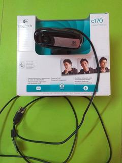 Camara - Webcam Logitech C170 Usb Con Micrófono