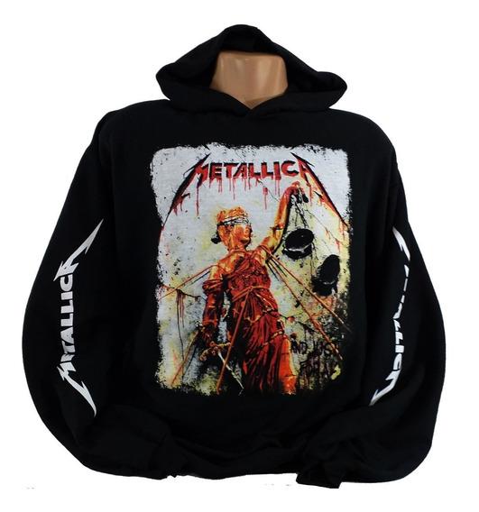Blusa Metallica And Justice For All Versão 002. Blusa Metallica Moletom Metallica And Justice For All Thrash Metal