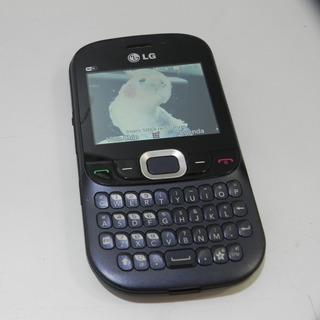 Celular Lg C365 Com Qwerty Camera 2mp Radio Mp3 **usado**