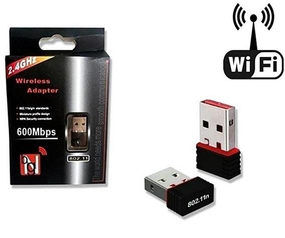 Adaptador Wifi 150m 600mpbs Ultra Rápido 2.4ghz Profissional
