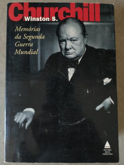 Livro Winston Churchill Memórias Da Segunda Guerra Mundial