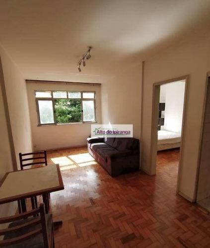 Apartamento Com 1 Dormitório Para Alugar, 45 M²- Bela Vista - São Paulo/sp - Ap4776