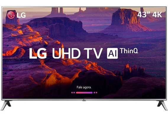 Smart Tv Lg 43 Led Ultra Hd 4k 43uk6520