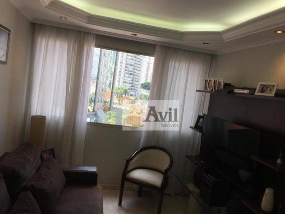 Apartamento Com 2 Dormitórios À Venda, 70 M² Por R$ 450.000 - Tatuapé - São Paulo/sp - Ap2197