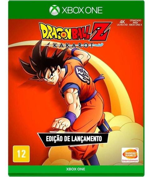 Dragon Ball Z Kakarot Ed Lançamento Xbox One Mídia Física