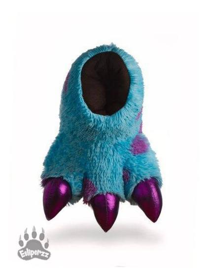 Pantuflas De Garra Monster Azul Moteado - Estrena A Msi
