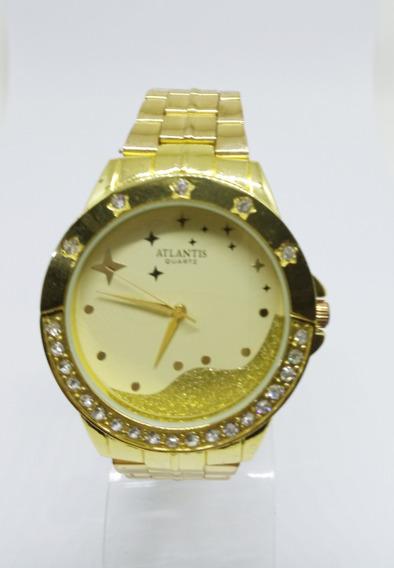 Relógio Atlantis Feminino Estrelas