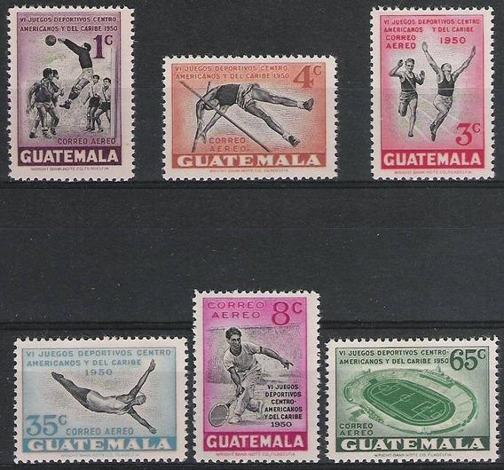 Guatemala 1950 - Juegos Deportivos - Serie Mint