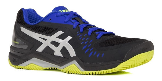 Tênis Asics Gel Challenger 12 Clay Black Saibro # Resolution