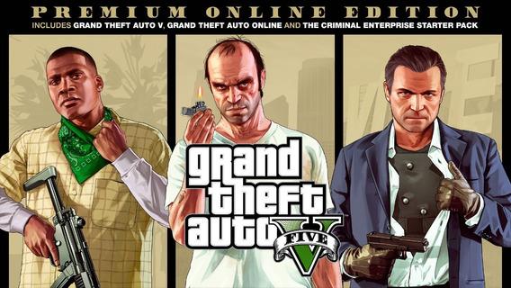 Gta - Grand Theft Auto V - Premium Edition