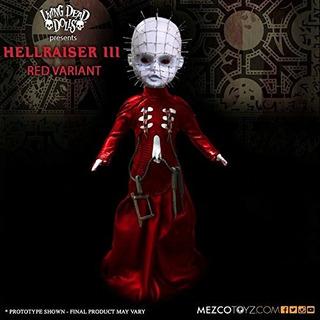 Living Dead Dolls Hellraiser Iii Pinhead Red Variant Edición