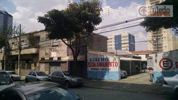 Galpão Comercial À Venda, Tatuapé, São Paulo. - Ga0008
