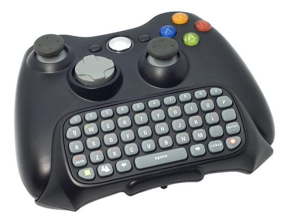 Teclado Do Xbox 360 Messenger Sem Fio Para Controle Chatpad