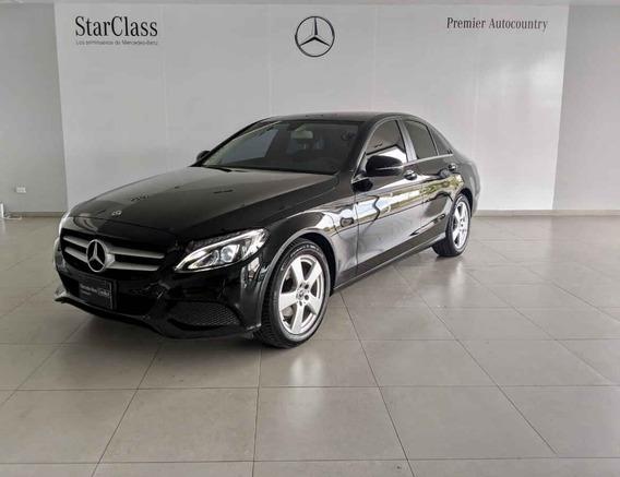 Mercedes-benz Clase C 2018 4p C 180 L4/1.6/t Aut
