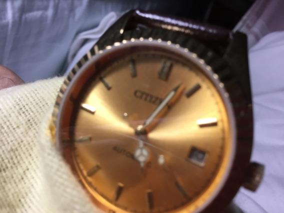 Relógio Citizen, Dourado, Unissex , Caixa Tanhanho 25mm