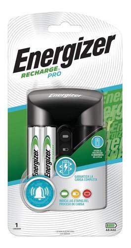 Cargador De Pilas Pro Energizer + 2 Pilas Aa