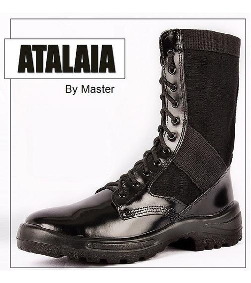Coturno Atalaia Ultra Leve Com Zíper - Original!!