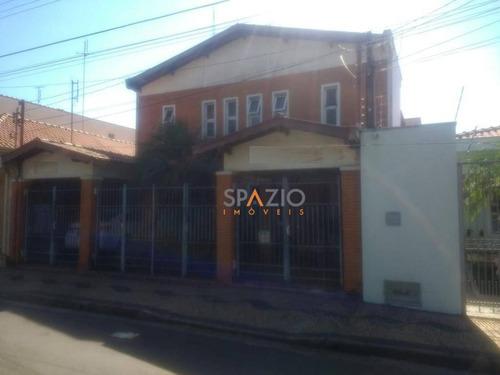 Imagem 1 de 24 de Sobrado Com 8 Dormitórios À Venda, 664 M² Por R$ 985.000 - Santana - Rio Claro/sp - So0050