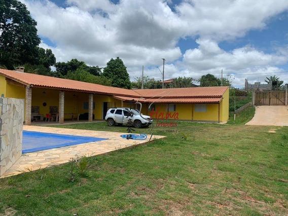 Chácara Com 2 Dormitórios À Venda, 1000 M² Por R$ 550.000 - Chácara Guanabara - Guararema/sp - Ch0013