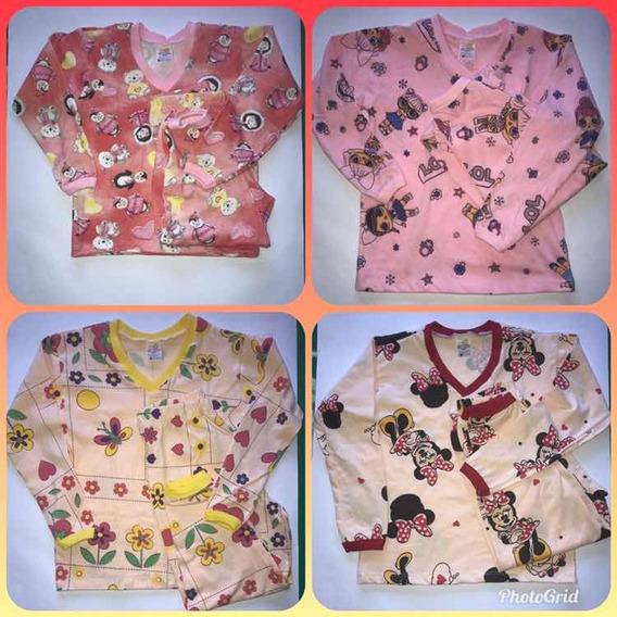Pijama Infantil Kit C/10