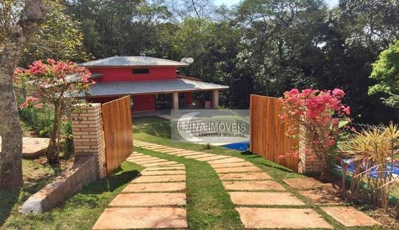 Chácara Com 3 Dormitórios À Venda, 1048 M² Por R$ 460.000,00 - Paruru - Ibiúna/sp - Ch0023