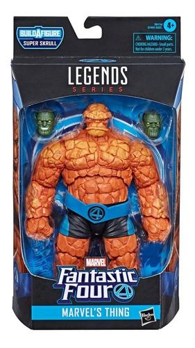 Imagem 1 de 3 de Marvel Legends Fantastic Four Coisa Wave 1