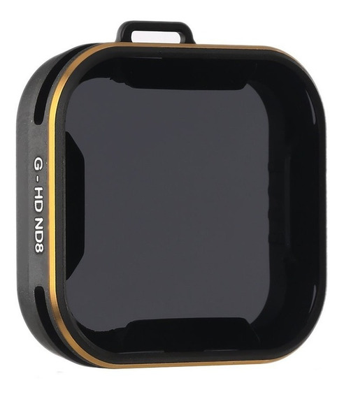 Filtro Densidade Neutra Nd8 Gopro Hero 5 6 7 Black - Pgytech