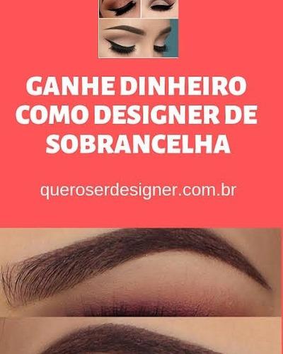 Curso Design De Sobrancelhas 100%online