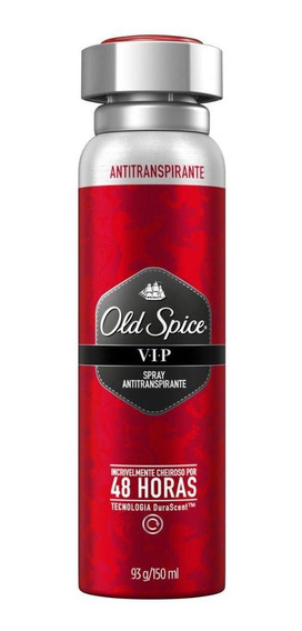 Desodorante Spray Antitranspirante Old Spice Vip 150ml