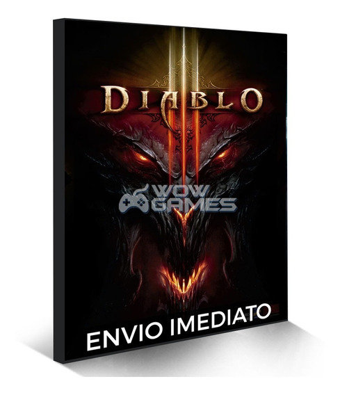Diablo 3 Edição Standard Battlenet Digital Cd-key Global Pc