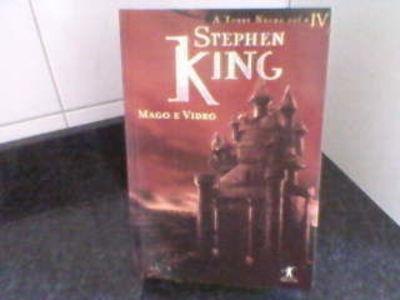 Livro Mago E Vidro A Torre Negra Volume Iv Stephen King