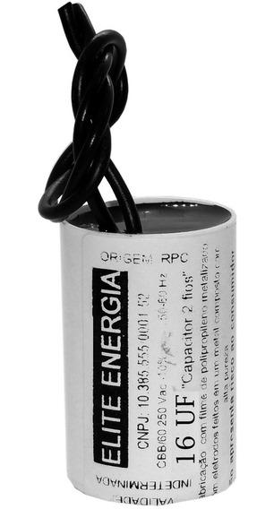 Capacitor Permanente Bomba Periferica 16uf X 250v 2fios