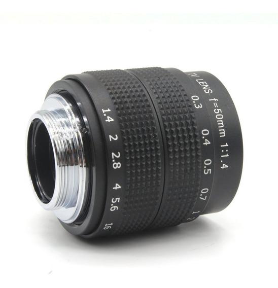 Lente Sony Alpha 50mm F1.4 Nex-6 A6300 A5000 A6000 A7r A7