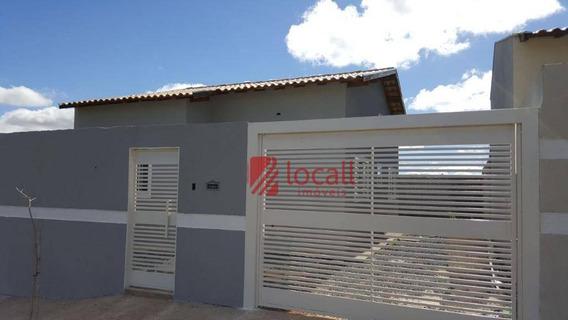 Casa Residencial À Venda, Parque Dos Ipês, Mirassol. - Ca1524
