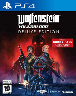 Wolfenstein Youngblood Ps4 Deluxe Edition (en D3 Gamers)