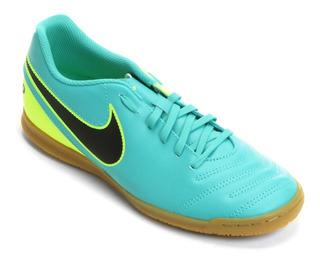 Chuteira Futsal Tiempo Rio Iii Ic Verde - Tam 43