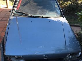 Honda Accord Chocado Con Deuda Automatico Motor 2 1987