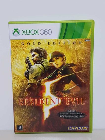 Resident Evil 5 Gold Edition Midia Física Original P/entrega