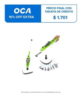 Mopa A Vapor Profesional X10 1300w Limpiadora 10 En 1