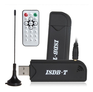 Receptor Isdb-t Tv Usb Antena Control Remoto