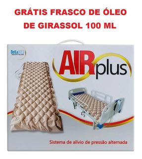 Colchão Pneumático Hospitalar Air Plus 130kg Anti Escaras