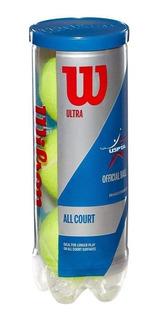 Tenis Center Pelotas Wilson Ultra All Court Tubo X3 20% Off