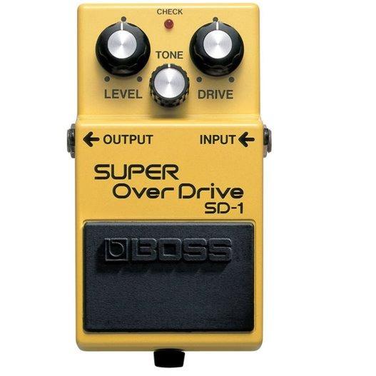 Pedal Para Guitarra Sd 1 Super Overdrive Boss
