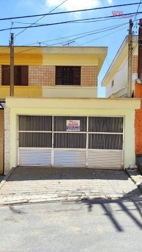 Sobrado Com 2 Dormitórios Para Alugar, 96 M² Por R$ 1.700,00/mês - Vila Dusi - São Bernardo Do Campo/sp - So0835