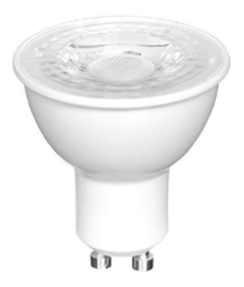 Kit 4 - Lâmpada Led Dicroica Gu10 7w 3000k Luz Amarela