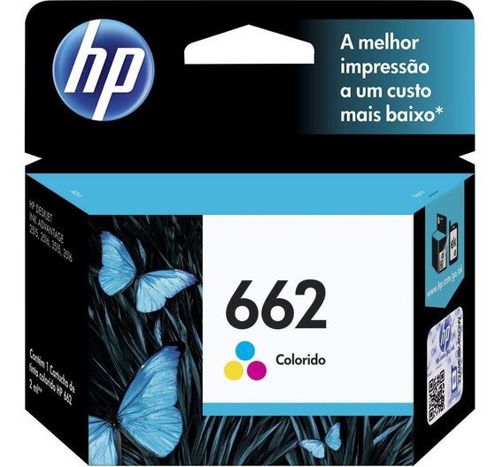 Cartucho Hp 662 Color Ink Advantage Ref:cz104ab