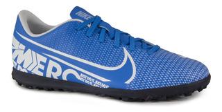 Chuteira Society Nike Mercurial Vapor 13 Club Azul