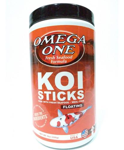 Koi Sticks 226gr Omega One Para Peces De Agua Fria
