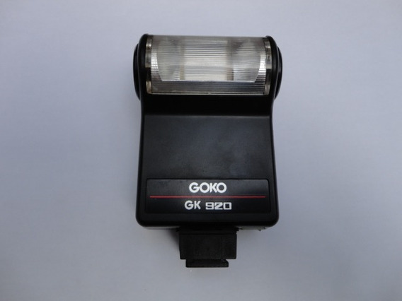 Flash Goko Gk 920 Para Camera Antiga