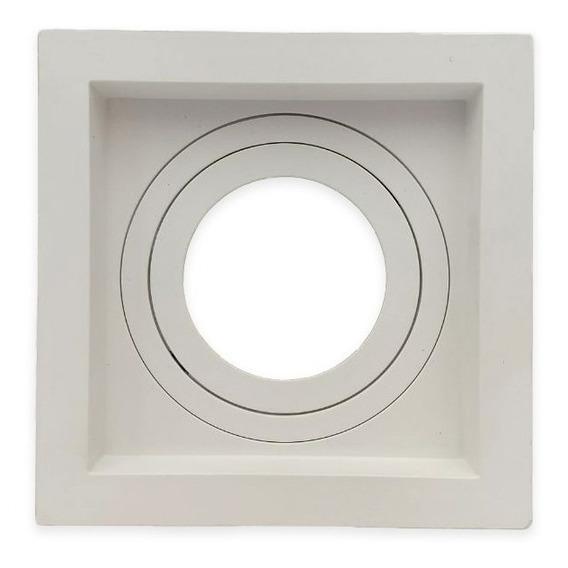 Embutido Par20 Quadrado Recuado Direcional Branco E27 - Save
